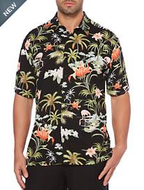 Cubavera® Tropical Print Sport Shirt