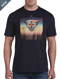 Robert Graham® DXL Tiger Prism Tee