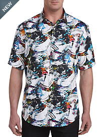 Robert Graham® DXL Digital Print Sport Shirt