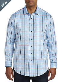 Robert Graham® DXL Jacquard Plaid Sport Shirt