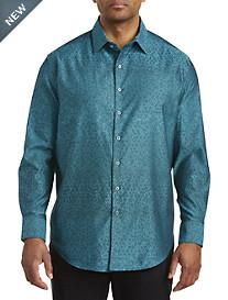 Robert Graham® DXL Tonal Jacquard Sport Shirt