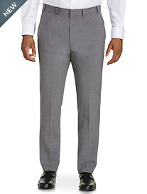 Cole Haan® Grand.ØS Solid Flat-Front Suit Pants