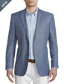 Jack Victor® Textured Solid Wool Sport Coat