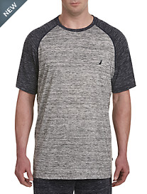 Nautica® Space-Dye Baseball Tee