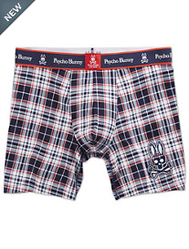 Psycho Bunny® Plaid Boxer Briefs
