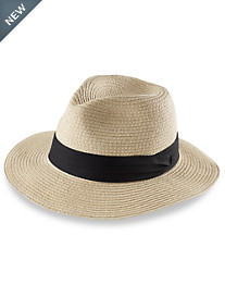 Harbor Bay® Solid Straw Panama Hat