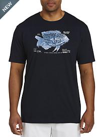 Nautica® Fish Graphic Tee