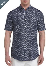 Nautica® Sailboat Print Sport Shirt