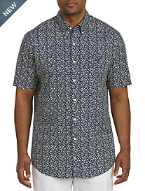 Nautica® Floral-Print Sport Shirt
