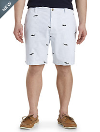 Nautica® Stripe Shark-Print Shorts