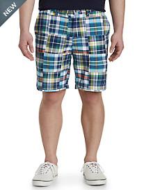Nautica® Plaid Patchwork Shorts