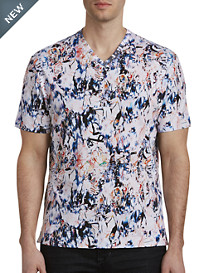 Robert Graham® Lima Printed V-Neck Tee