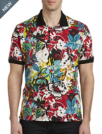 Robert Graham® Barrio Floral-Print Polo