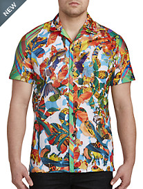 Robert Graham® Limited Edition Think Vivid Camp Shirt