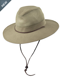 DPC by Dorfman Pacific Brushed Twill Safari Hat