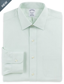 Brooks Brothers® Non-Iron Tonal Framed Stripe Dress Shirt
