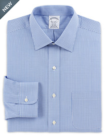 Brooks Brothers® Non-Iron Micro Frame Gingham Dress Shirt