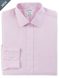 Brooks Brothers® Non-Iron Micro Framed Gingham Broadcloth Dress Shirt