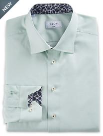 Eton® Micro Check Dress Shirt
