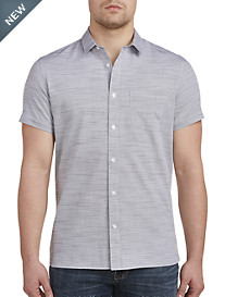 Calvin Klein® Sport Cotton Slub Sport Shirt