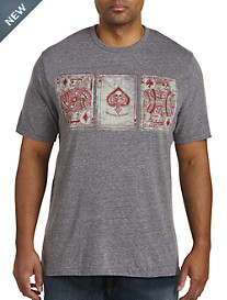 Lucky Brand® Poker Cards Tee