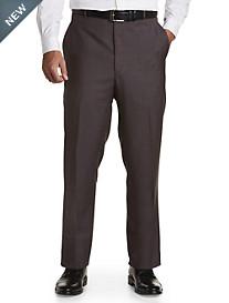 Ballin® Comfort-EZE Sharkskin Flat-Front Dress Pants