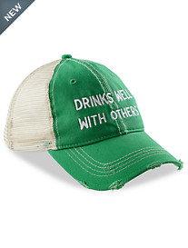 Retro Brand Drinks Well with Others Trucker Hat