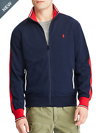Polo Ralph Lauren® Cotton Knit Track Jacket