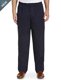 Bruno Saint Hilaire® Steve Double-Pleated Pants