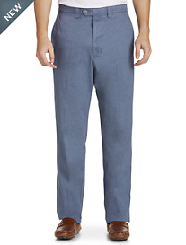 Bruno Saint Hilaire® Simon Textured Flat-Front Pants
