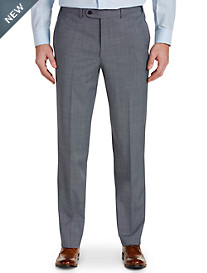 Riviera Traveler® by Jack Victor® Bone-Weave Flat-Front Dress Pants
