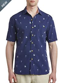 Tommy Bahama® Mix Master Print Seersucker Sport Shirt