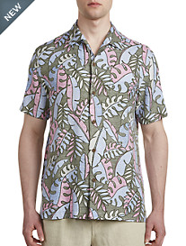 Tommy Bahama® Mateo Fronds IslandZone® Camp Shirt