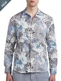 Tommy Bahama® Loredo Gardens Linen Sport Shirt