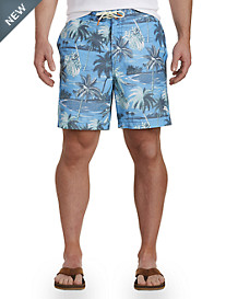 Tommy Bahama® Baja Puerto Vallarta Palms Board Shorts