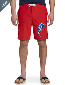 Tommy Bahama® Baja Hula Holiday Marlin Board Shorts
