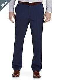 Jack Victor® Reflex Solid Flat-Front Suit Pants