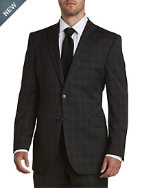 Jack Victor® Reflex Tonal Plaid Suit Jacket – Executive Cut