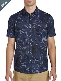 Michael Kors® Leaf Print Sport Shirt