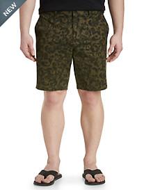 Michael Kors® Camo Flat-Front Shorts