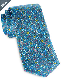Robert Talbott Best of Class Medallion Floral Silk Tie