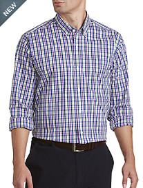 Cutter & Buck® Anthony Plaid Stretch Sport Shirt
