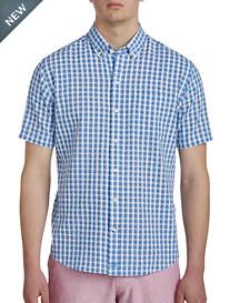 Cutter & Buck® Tyler Check Seersucker Sport Shirt