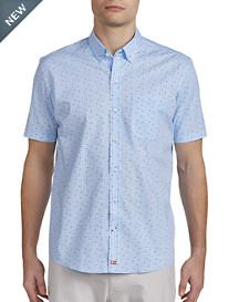 Cutter & Buck® Kaleb Print Sport Shirt