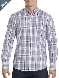 Cutter & Buck® Non-Iron Aidan Plaid Sport Shirt
