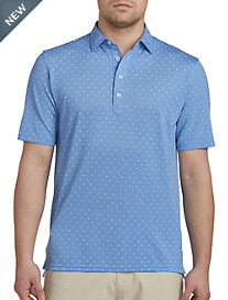 johnnie-O® Dillon Printed Stretch Knit Polo