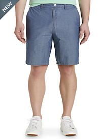 johnnie-O® Oliver Chambray Jacquard Shorts
