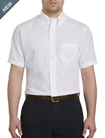 Brooks Brothers® Solid White Seersucker Sport Shirt