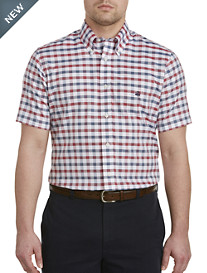 Brooks Brothers® Non-Iron Dobby Gingham Oxford Sport Shirt