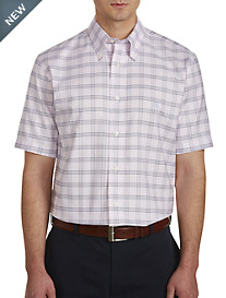 Brooks Brothers® Non-Iron Grid Oxford Sport Shirt